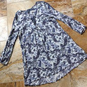 Altar'd State Boho rayon crinkle swing tunic/dress